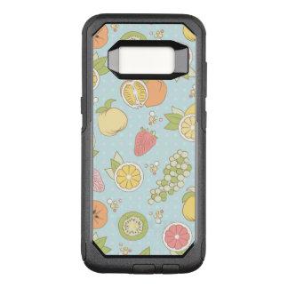 Patroon met Vruchten en Bessen OtterBox Commuter Samsung Galaxy S8 Hoesje