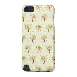 Patroon van bomen en vogels iPod touch 5G hoesje