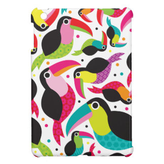 Patroon van Brazilië van de toekan retro kinder iPad Mini Covers