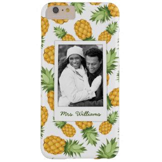 Patroon   van de ananas voegt Uw Foto toe Barely There iPhone 6 Plus Hoesje
