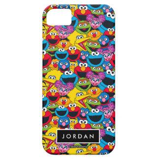 Patroon | van de Bemanning van het Sesame Street Barely There iPhone 5 Hoesje