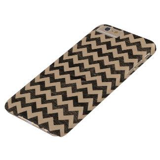Patroon van de Chevron van de Korrel van het Barely There iPhone 6 Plus Hoesje