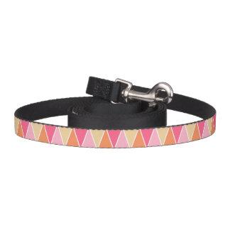Patroon van de Driehoek van de perzik het Roze Hondenlijn