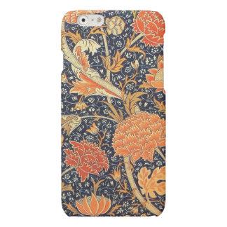 Patroon van de Jugendstil van William Morris Cray iPhone 6 Hoesje Mat
