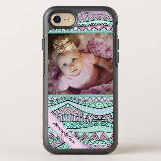 Patroon van de Pastelkleur van Girly van de pret OtterBox Symmetry iPhone 8/7 Hoesje