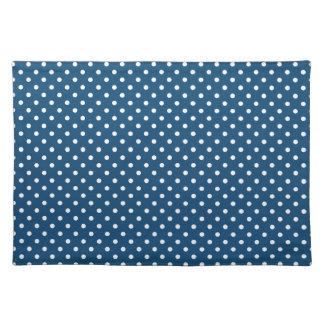 Patroon van de Stip van Monaco het Blauwe Placemat