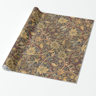 Patroon van de Stof van het vintage Tapijtwerk het Inpakpapier