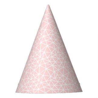 Patroon van de Strepen van Girly het Roze Witte Feesthoedjes