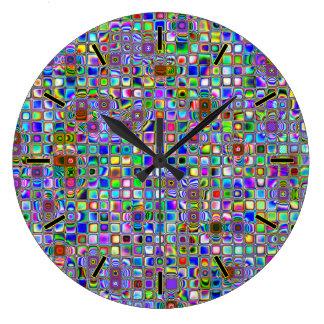 Patroon van de Tegels van het Mozaïek van de Grote Klok