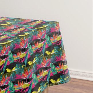 Patroon van de Textuur van het neon het Abstracte Tafelkleed
