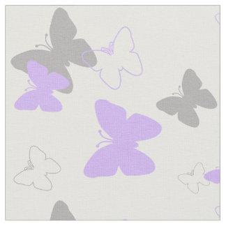 Patroon van de Vlinder van de paarse Lavendel het Stof