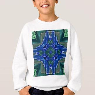 Patroon van de Vorm van mooie Koningsblauwen het Trui