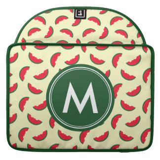 Patroon van de Watermeloen van de Zomer van het MacBook Pro Sleeve