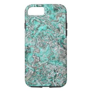 Patroon van het Agaat van de Mineralen van Faux iPhone 8/7 Hoesje