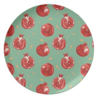 Patroon van het Fruit van de granaatappel het Bord