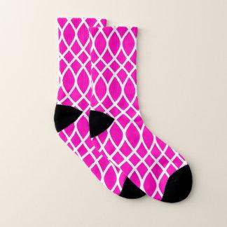 Patroon van het Latwerk van het neon het Roze Sokken
