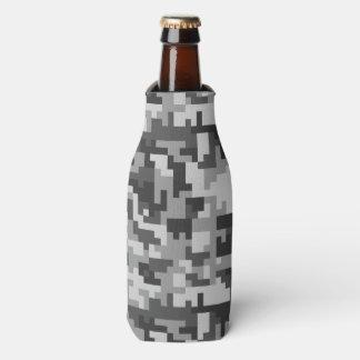 Patroon van het Leger van het pixel het Grijze en Flesjeskoeler