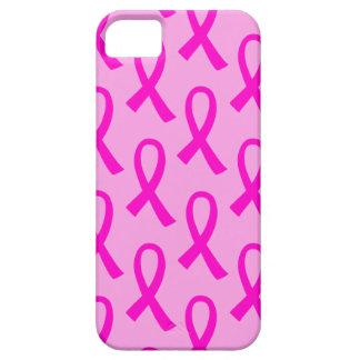 Patroon van het Lint van Kanker van de borst het Barely There iPhone 5 Hoesje