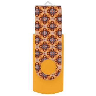 Patroon van het Mozaïek van de oranje Gradiënt