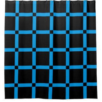 Patroon van het Net van de zwarte & van het Neon Gordijn 0