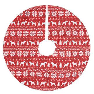 Patroon van Kerstmis van de Silhouetten van Kerry Kerstboom Rok