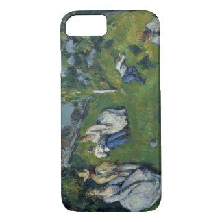 Paul Cezanne - de Vijver iPhone 7 Hoesje