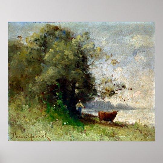 Paul-Désiré Trouillebert door het Meer Poster