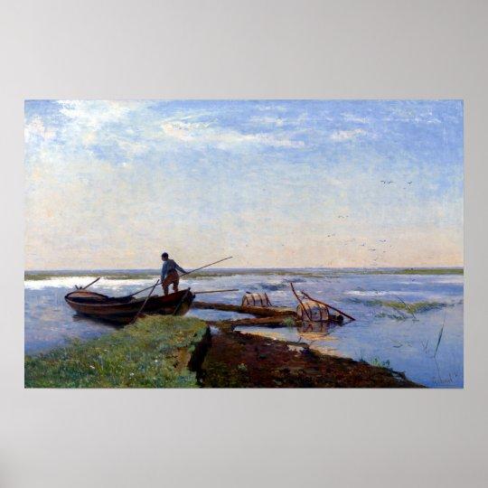 Paul Gabriël Polder Landscape Poster