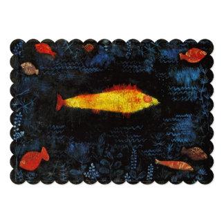 Paul Klee de Goudvis Persoonlijke Aankondiging