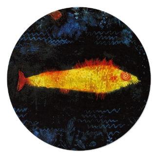 Paul Klee de Goudvis Aankondiging