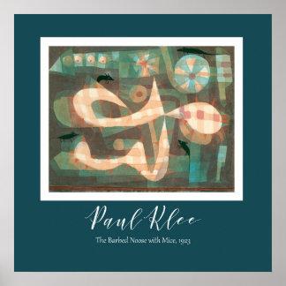 Paul Klee - de Lus Met weerhaken met de Muizen Poster