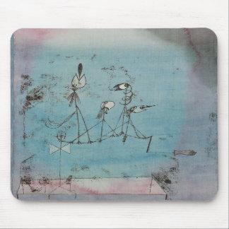 Paul Klee die het Stootkussen van de Muis van de M Muismat