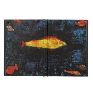 Paul Klee het Art. van de Waterverf van de Goudvis iPad Air Hoesje