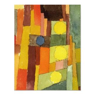 Paul Klee in de Stijl van Kairouan Aankondiging