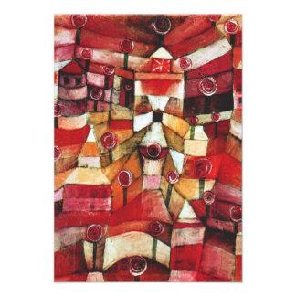 Paul Klee nam de Uitnodigingen van de Tuin toe