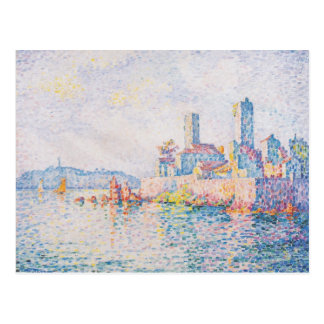 Paul Signac- Antibes, de torens Briefkaart