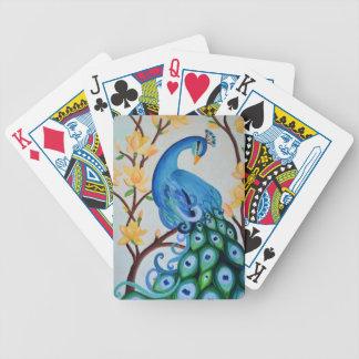 Pauw en Lotus Poker Kaarten