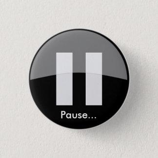 Pauze… Knoop Ronde Button 3,2 Cm