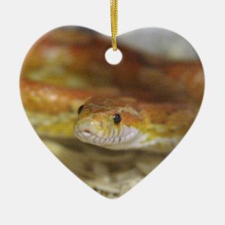 PB de slang Keramisch Hart Ornament