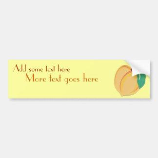 Peachy Sticker van de Bumper