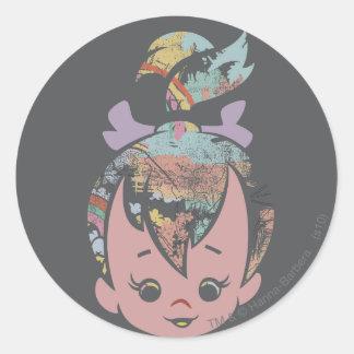 PEBBLES™ de Collage van de kleur Ronde Stickers