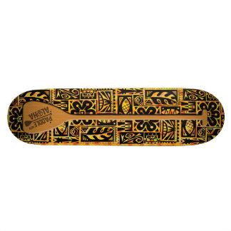 Peddel met Skateboard Aloha