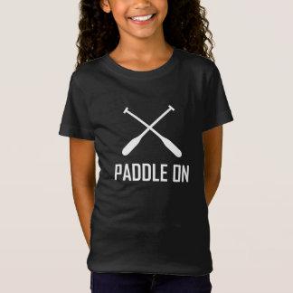 Peddel op het Leven van het Meer T Shirt