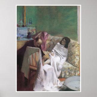 Pedicure, 1873 - Edgar Degas Poster