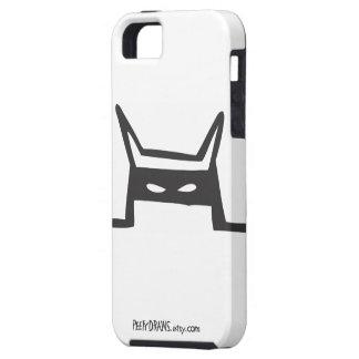 Peety trekt - Klaar voor [Witte] Actie Tough iPhone 5 Hoesje