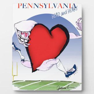 Pennsylvania hoofdhart, tony fernandes fotoplaat
