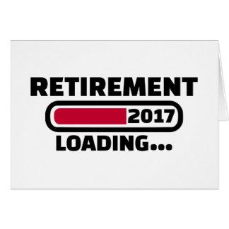 Pensionering 2017 wenskaart