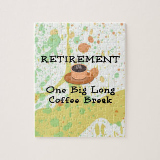 Pensionering--Één Grote Lange Koffiepauze Puzzel
