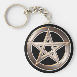 pentagram zeer belangrijke ketting sleutelhanger