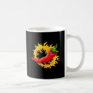 Peper met vlam koffiemok